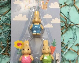 Bunny Erasers!
