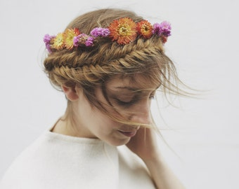Hawaii - Dried Flower Crown