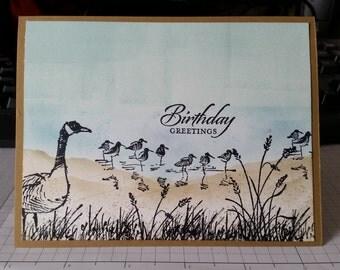 Wetlands 1 Birthday Card