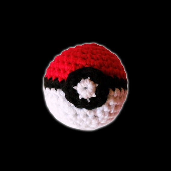 Poke Ball Mini - Pokemon. Amigurumi Pattern PDF.