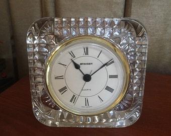 Staiger Crystal Desk Clock