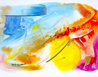 Abstract Original Art, Series R: 5A