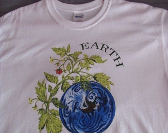 Earth: Love It or Lose It T-Shirt | climate change art | Liberty Graphics