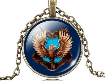 Pendant Necklace with bronze plated Medallion antique Eagle No. 0339