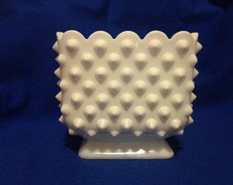 Fenton Hobnail Candy Dish