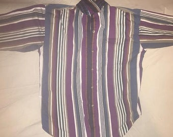 Mad Multi-Colored Long Sleeved Shirt (Small)