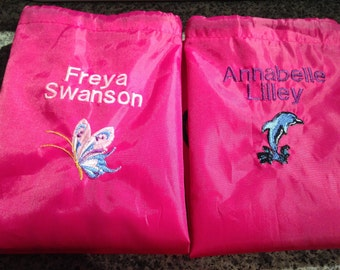 Boys and Girls Swimming bag choice of colour and picture.