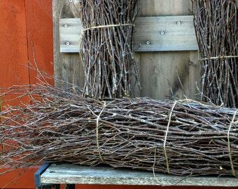 """1 Bunch White Birch Twigs 38""""-42"""""""