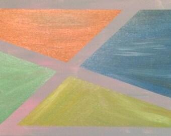 Canvas Tape Art 12X16