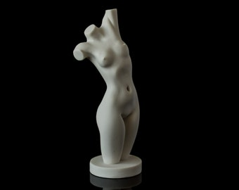 Marble Nude Girl Figurine Naked Women Statue Russian Art Handmade Statuette For Home Decor Aphrodite Figure