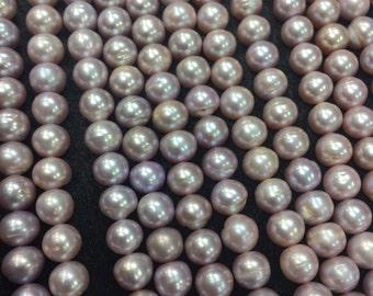 Freshwater Pearl Potato shape beads  , 9mm size -Good Quality 40cm Length