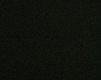 1mm Wool Felt - Black