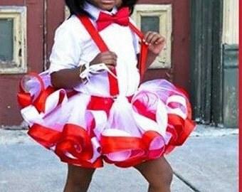 Red and white tutu, red tutu, white tutu, red and white tulle skirt, candy cane tutu, candy cane tulle skirt, candy cane tulle tutu
