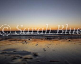 Sunrise reflections, Sunshine Coast