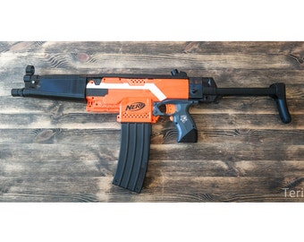 Nerf Stryfe Blaster MP5 Police SET for LARP und cosplay