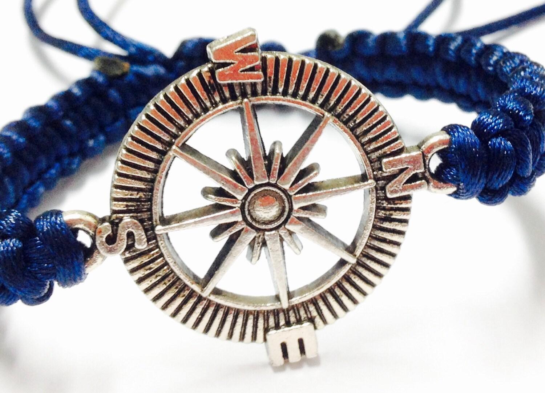 Mens Nautical Bracelet Pass Bracelet  Mens Nautical Macrame Bracelet   Mens Macrame Bracelet  Macrame Bracelet  Macrame Jewelry
