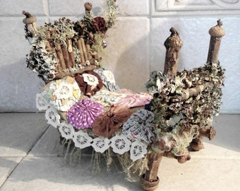 A lovely Primative Fairy Bed