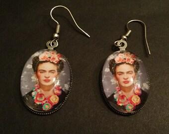 Frida Kahlo Drop Earrings