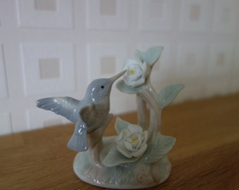 Humming Bird porcelain figurine by John Jenkins