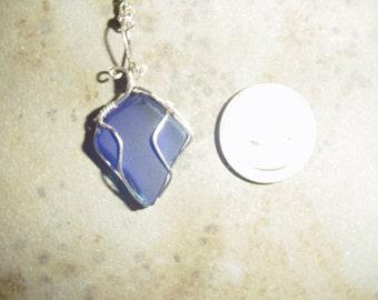 Cobalt Blue beach glass