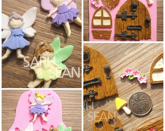 Fondant Fairy Silicone Mould Set 1