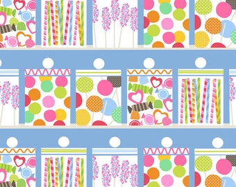 Lolly - Candy Jars - Per Yd  - by Maude Asbury for Blend Fabrics