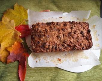 Dense Fruit Loaf Cake Vegan Dairy-free