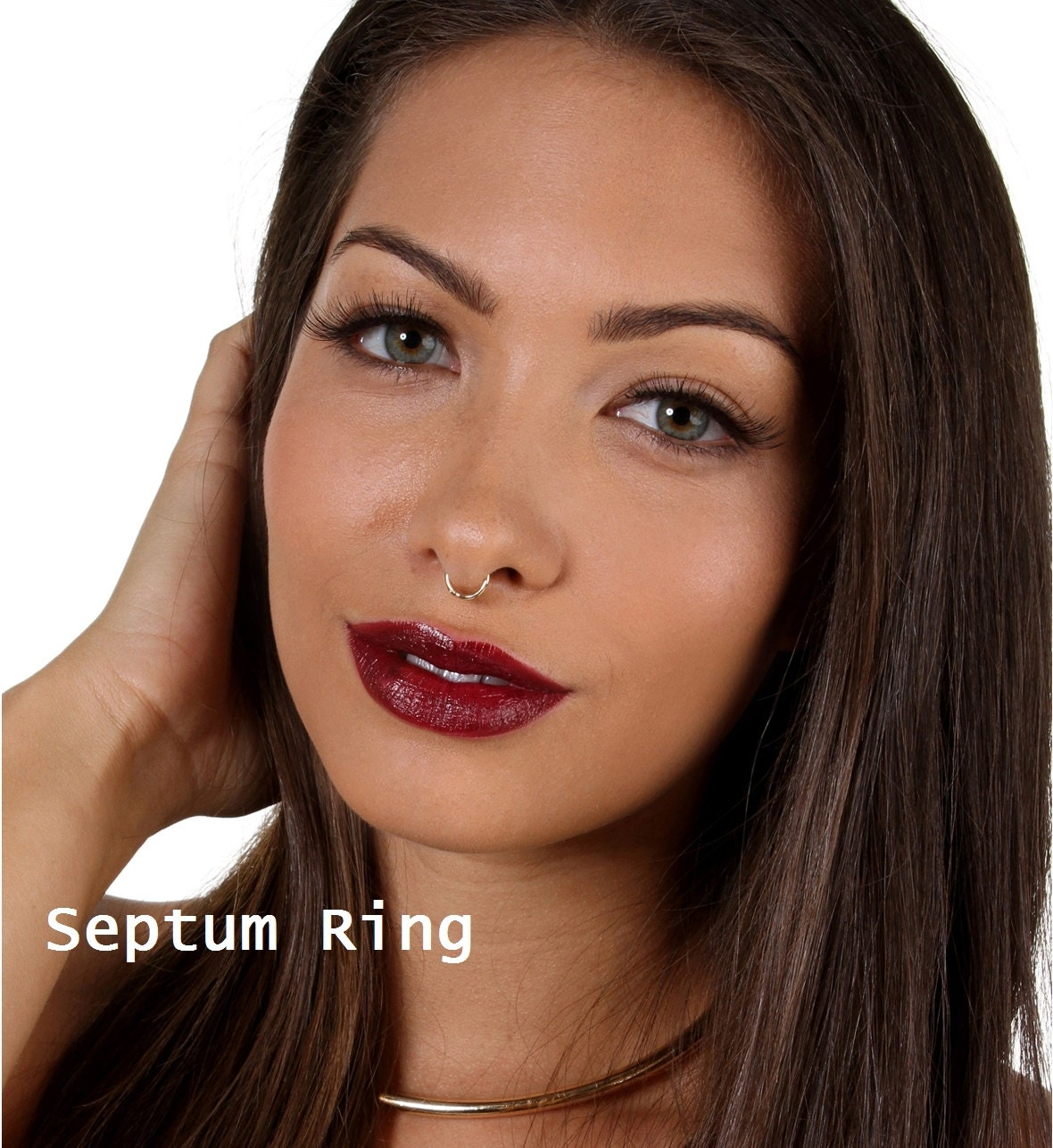 how to change a septum ring