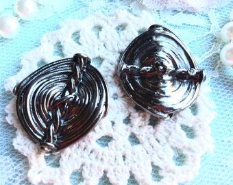 Vintage Steampunk Style Buttons/Metal Buttons/Great for Steampunk Decor,Shirt Buttons, Steampunk Cuff