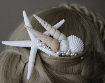 Hair Comb Beach Ocean Wedding Mermaid Costume Cosplay Festival Accessory Gift for Her