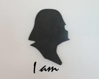 Darth Vader Wood(MDF) Silhouette
