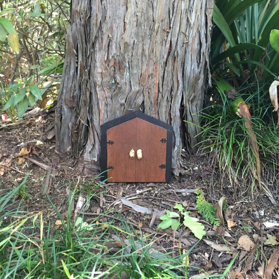 Large fairy door double fairy door outdoor fairy door for Outdoor fairy door