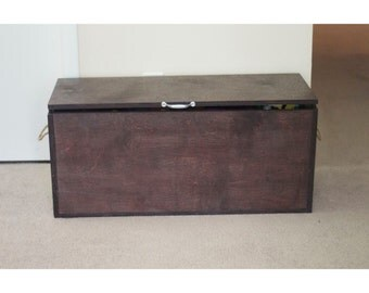 Wooden Toy Box with Spacers