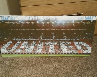 MUFC United Canvas