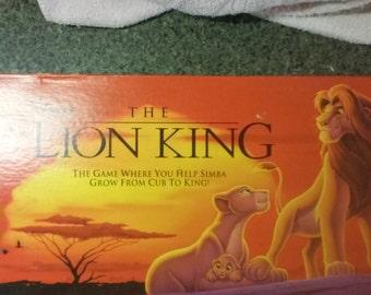 Lion King Board Game 1993 Disney Milton Bradley