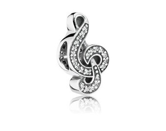 Sweet Music Treble Clef, Clear CZ 791381CZ