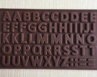 Alphabet/Letter Mold