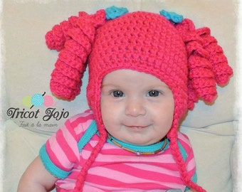 Tuque Lalaloopsy (Doll) - made to measure