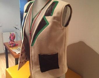 Oversize child vest