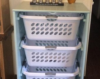 3-6 Laundry Basket Holder