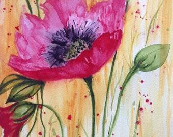 Art155 - Golden Poppy