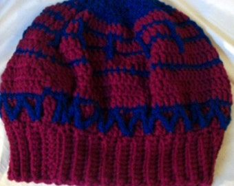 Crochet Slouch Hat - Tam