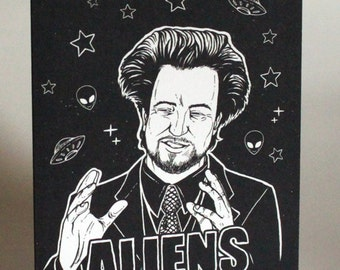 Giorgio Tsoukalos Ancient Aliens Greeting Card