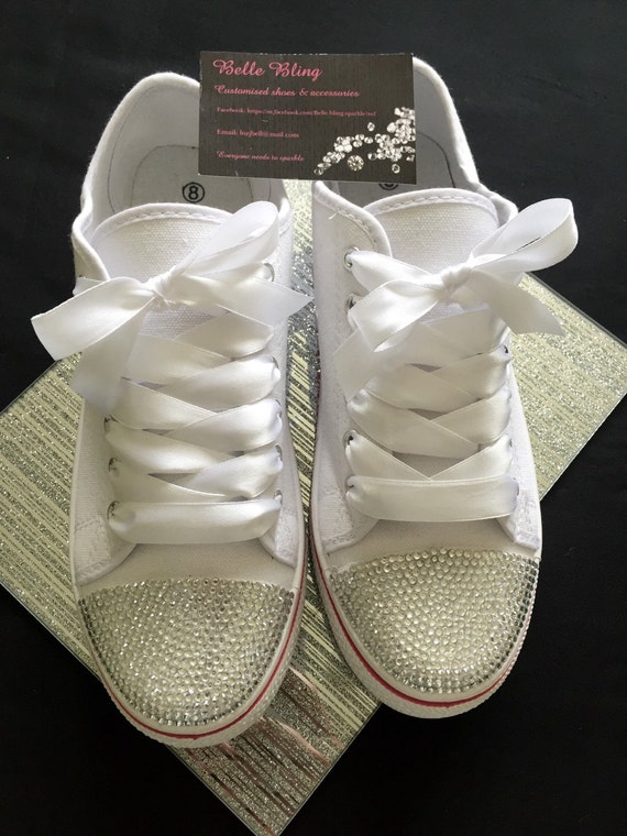 58f4d6abbbeef Personalised wedding trainers : Sleepys beds