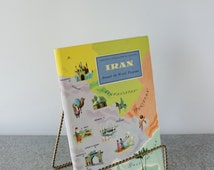"""IRAN -""""Persian Culture"""" American Geographical Society Travel Booklet, Unused Stickers Included, Around the World, Travel Guide, Ephemera"""