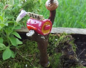 Fairy Acorn Top Mailbox