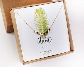 Morse code necklace, aunt bracelet, Morse code bracelet, gift for aunt, aunt necklace, aunt Morse code, sterling silver, gold delicate