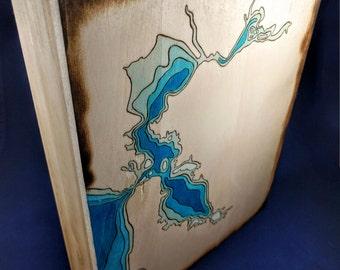 "San Francisco Bay Ocean Topology Map (""Bathymetry"")"