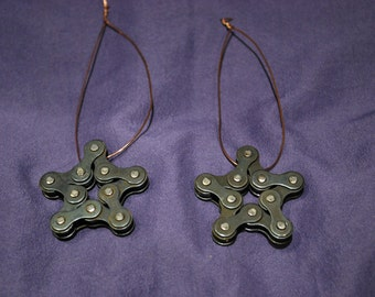 Chain Star Ornament