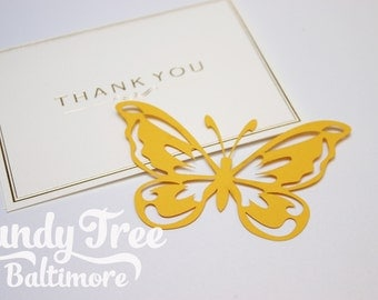 Paper butterflies pack of 20  embellishments